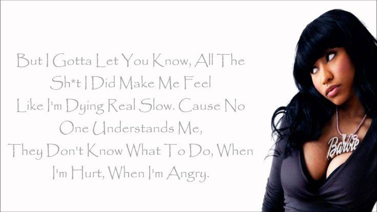 Nicki Minaj - Autobiography Lyrics Video