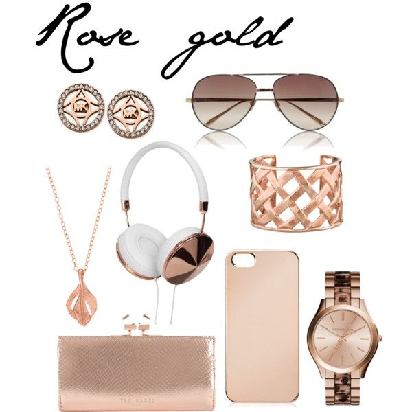 Polyvore featuring Chupi, Ted Baker, Michael Kors, Kenneth Jay Lane, Linda Farrow and Frends