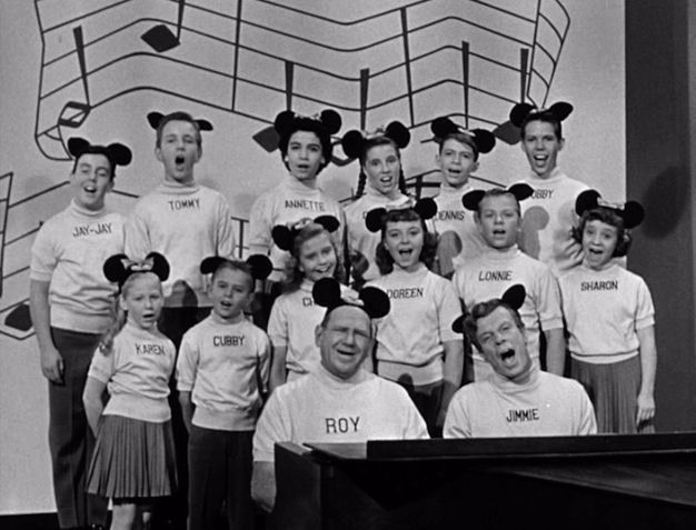 """Today is Tuesday, you know what that means--we're gonna have a special guest!"" I loved the old Mickey Mouse Club reruns."