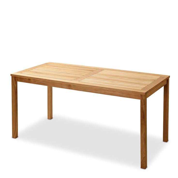 Articolo: CINAS2502000Tavolo realizzato in legno di teak naturale finemente sabbiato. Legno indonesiano certificato V-legal.