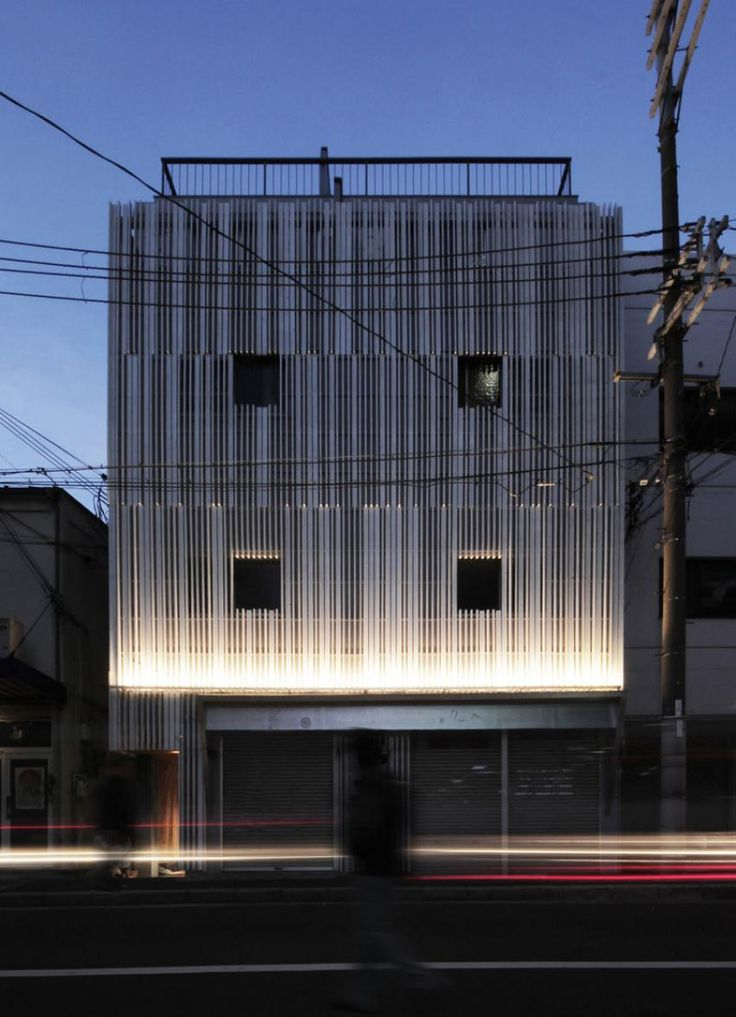 N strips Residence by Jun Murata