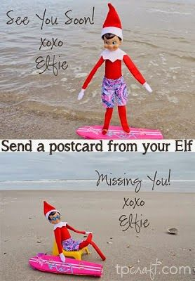 TPcraft.com: Send a Postcard from your Elf on the Shelf