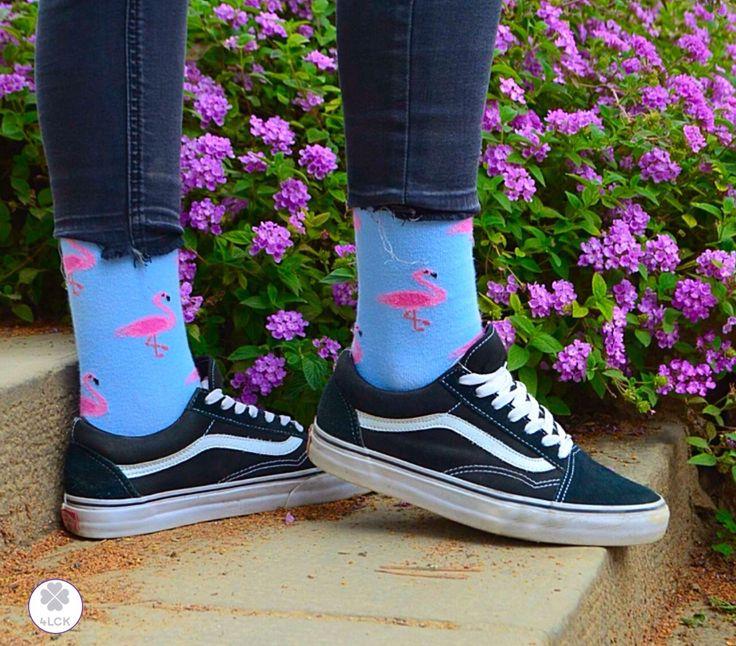 ☺️Flamingo socks