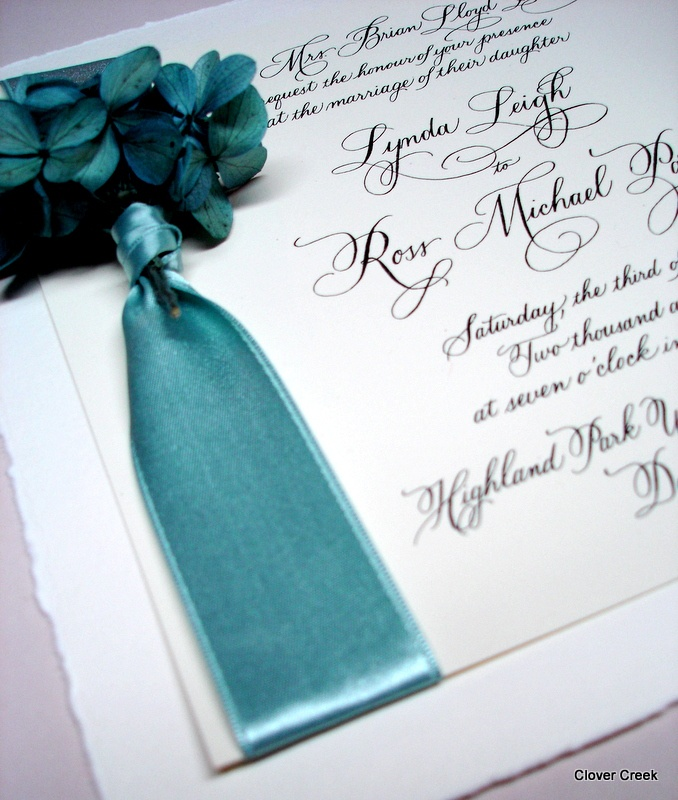 beach wedding invitation samples%0A How to do business with Clover Creek Dealers  find a dealer or apply to  become a dealer  Custom wedding invitations handmade by Clover Creek
