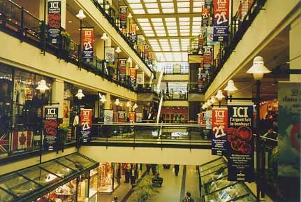 Underground city, Montreal. A super nice place to get out of the weather and shop