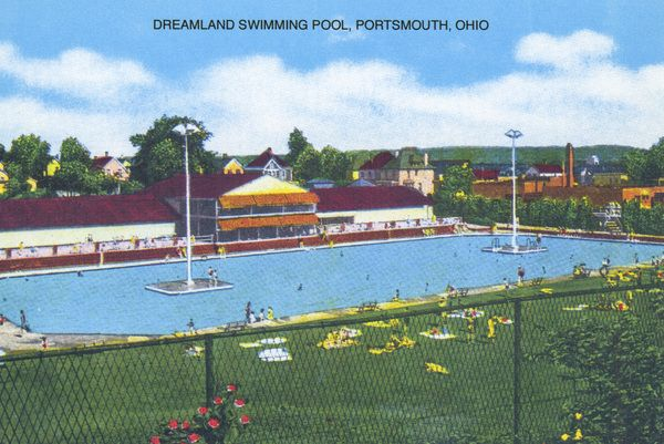 Many may remember Dreamland Pool. It opened in June of 1929, by a Kenova, West Virginia company. Closed in the 1990s, and now Aldi's Grocery stands in its place.