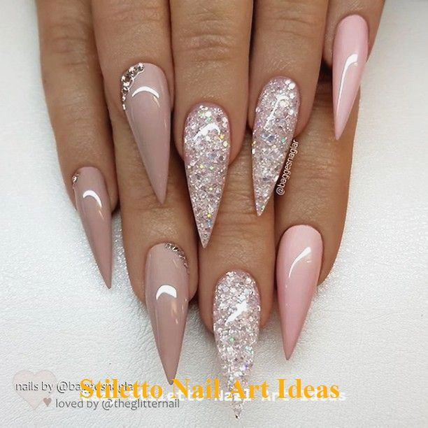 30 große Stiletto Nail Art Design-Ideen 1 #nailideas #stilettonail