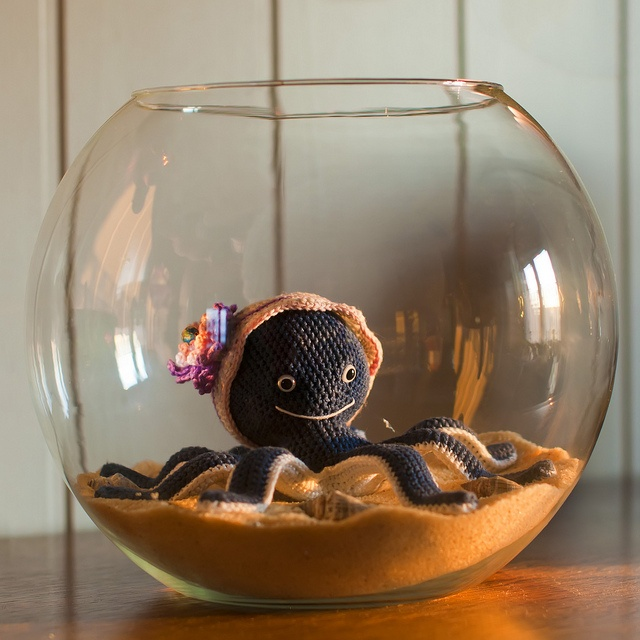 1000 images about amigurumi sea creatures on pinterest for Octopus fish tank