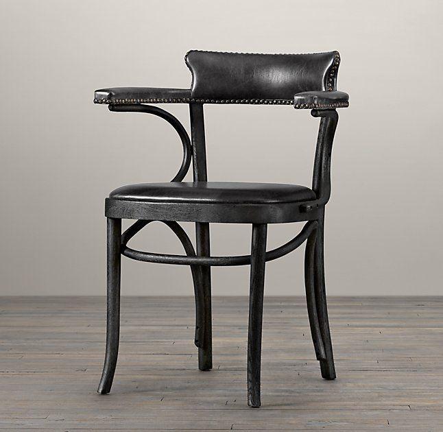 Vienna Café Leather Armchair