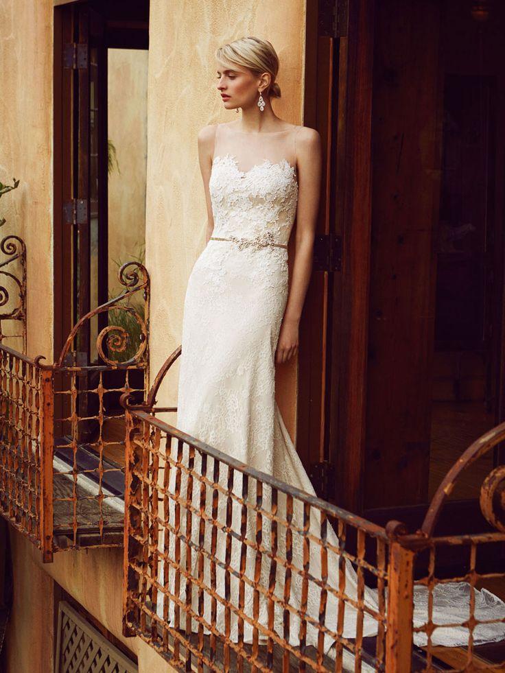 Beautiful 2016, BT16-22 front view - Enzoani 2016 Wedding Dresses | itakeyou.co.uk