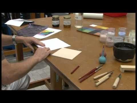 Técnicas cerámicas de tratamiento de superficie. Bajo Cubierta. - YouTube