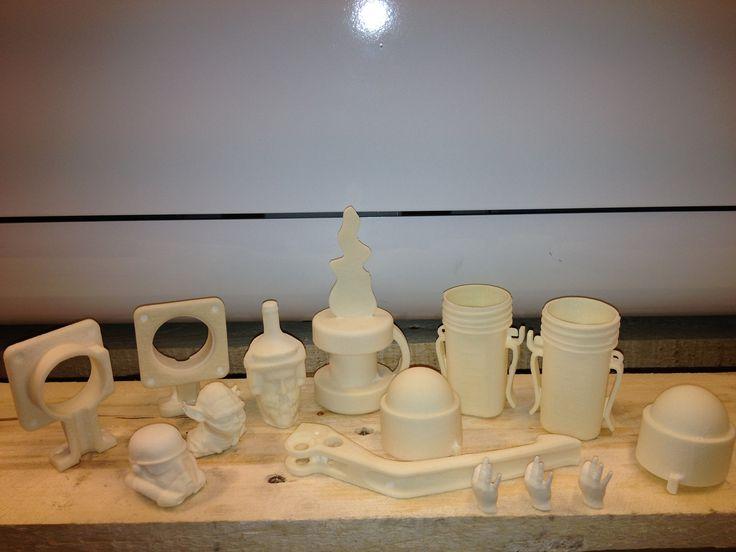 Blueprinter 3D-tulosteita