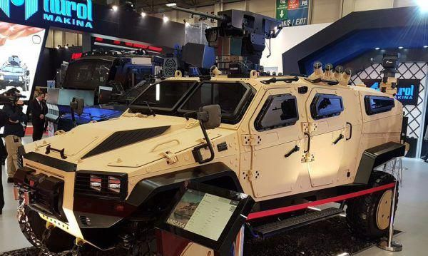 Turkey S New Nms 4x4 Armored Vehicle Revealed Yesterday At Doha