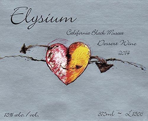 2014 Quady Winery Elysium Black Muscat Wine 375ml