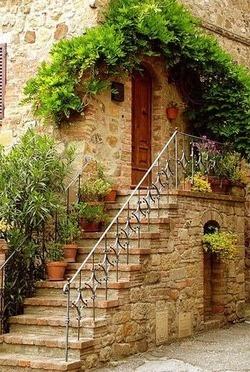 Les 11 meilleures images propos de entr e et escalier pour l 39 ext rieur sur pinterest jardins for Escalier exterieur jardin