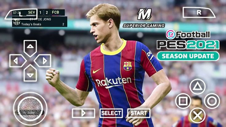 PES 2021 PPSSPP Camera PS5 Android Offline 600MB Best