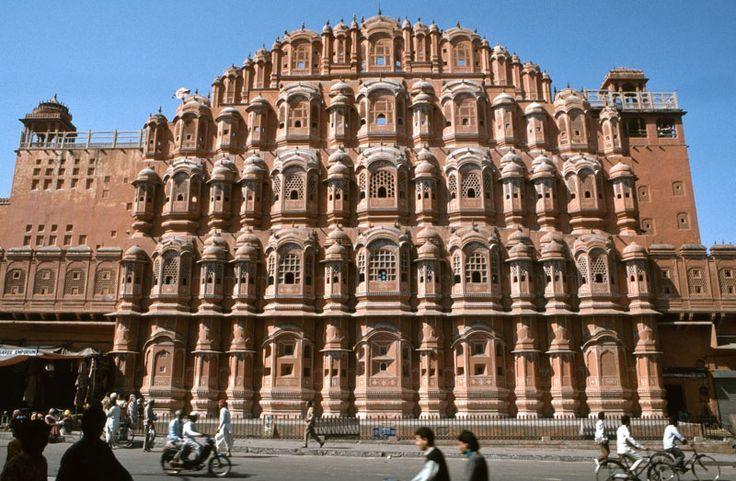 """Jaipur - die """"rosarote"""" Hauptstadt Rajasthans"""