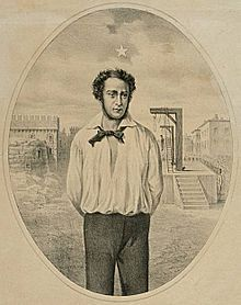 Ciro Menotti. Durante i moti del 1830-31 fu la figura di maggior rilievo fra i patrioti italiani. Commerciante modenese, intendeva dare inizio a una rivoluzione che dall'Emilia si   estendesse a tutta l'Italia settentrionale, per formare uno Stato forte nel Centro nord, indipendente dall'Austria.