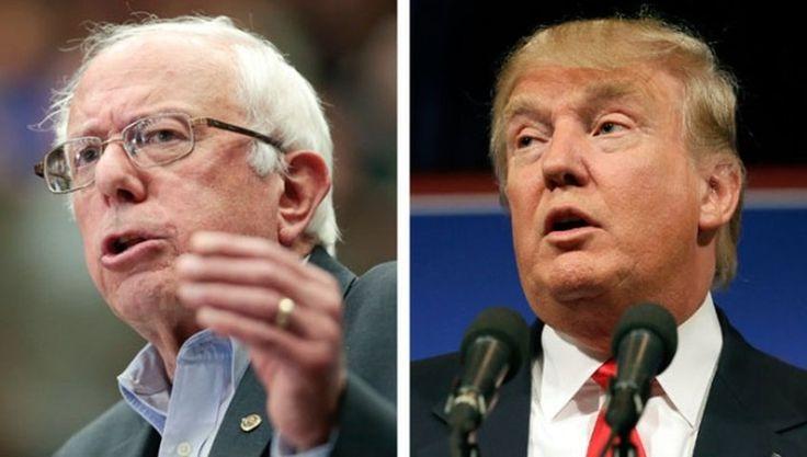 Sanders y Trump ganan elecciones primarias en Nuevo Hampshire
