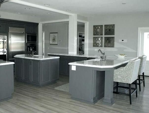 Kitchen Ideas Grey Floor Wood Floors Flooring