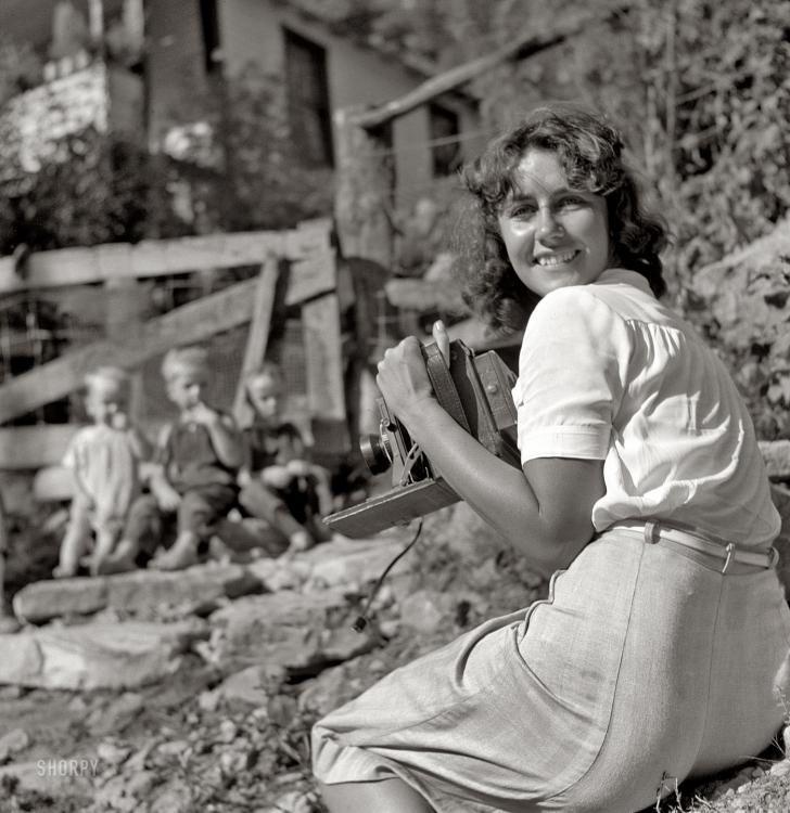 Marion Post Wolcott August 1940. Pine Mountain, Kentucky.