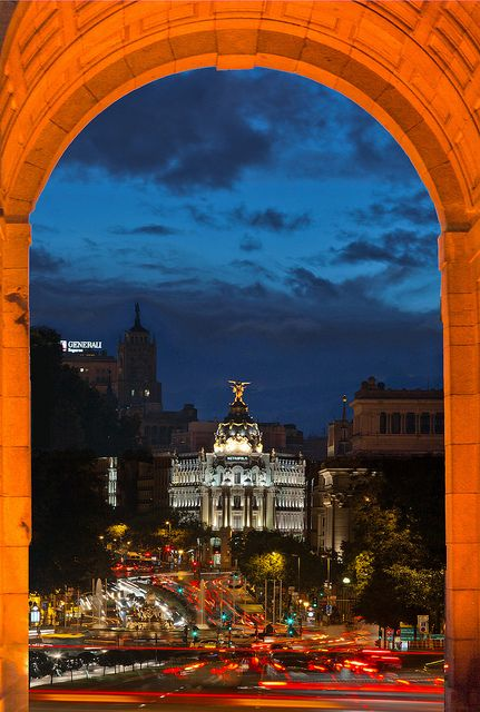 Puerta de Alcalá, Madrid, Spain