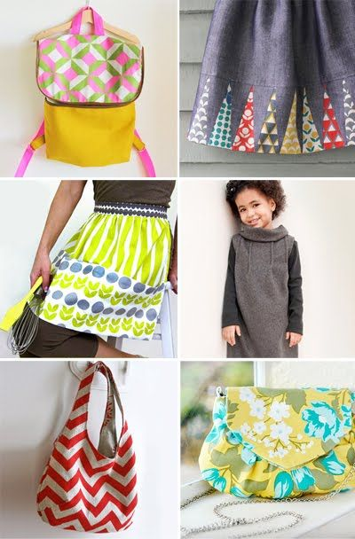 Free sewing patterns and tutorials - good!