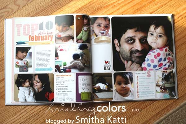 An idea for digital Project Life - Create a Shutterfly book for family and friends