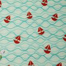 Designerstoffe USA - 0,25m BW Riley Blake Maritime Modern Segelschiff - ein Designerstück von Elfenfrosch-Stoffe bei DaWanda