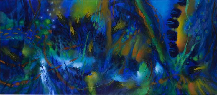 2012 La obra de Jacanamijoy, que carece de antecedentes en la historia de la pintura occidental, está centrada en el aspecto exterior de las cosas que nos rodean y no en lo que late, según el pensamiento mágico primitivo, en el misterioso interior de cada una.