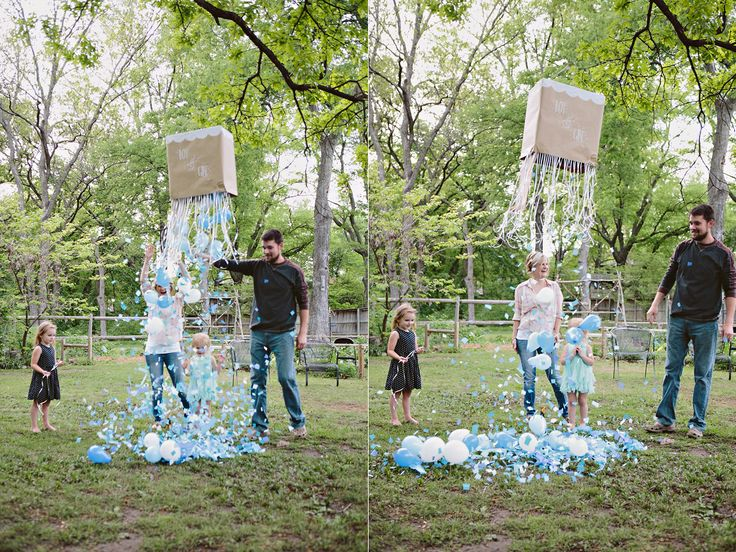 Gender reveal box how to