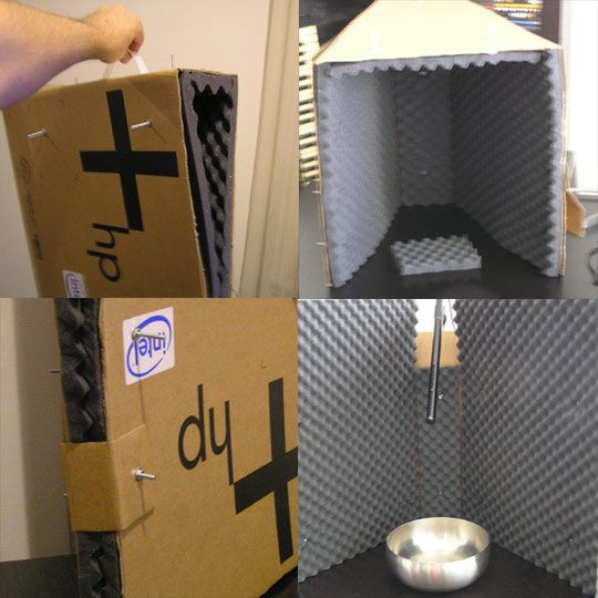 Portable Mini Vocal Booth. Best 25  Recording booth ideas on Pinterest   Vocal recording