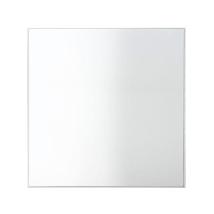 by Lassen - View Spiegel 70 x 70 cm, weiß Weiß H:70 B:70