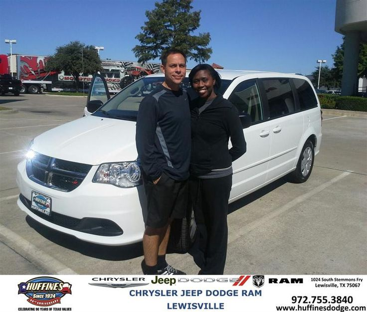 #HappyAnniversary to Frank Miller on your 2014 #Dodge #Grand Caravan from Leon Speight at Huffines Chrysler Jeep Dodge Ram Lewisville!