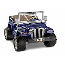 Saving all my pennies to get him this for  Christmas 2013.  Power Wheels Fisher Price 12 volt Jeep Wrangler Rubicon