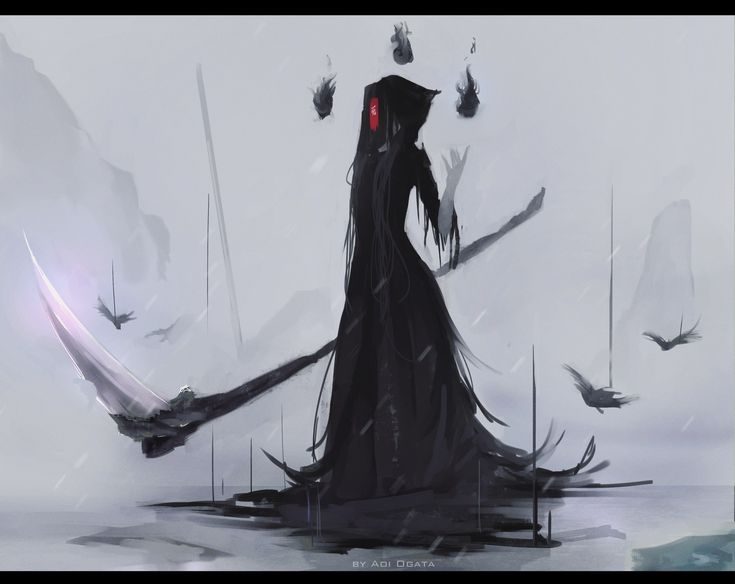 (1) 「Death scythe」/「Aoi Ogata」のイラスト [pixiv]