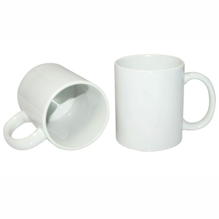 11oz White Coated Mug-Grade