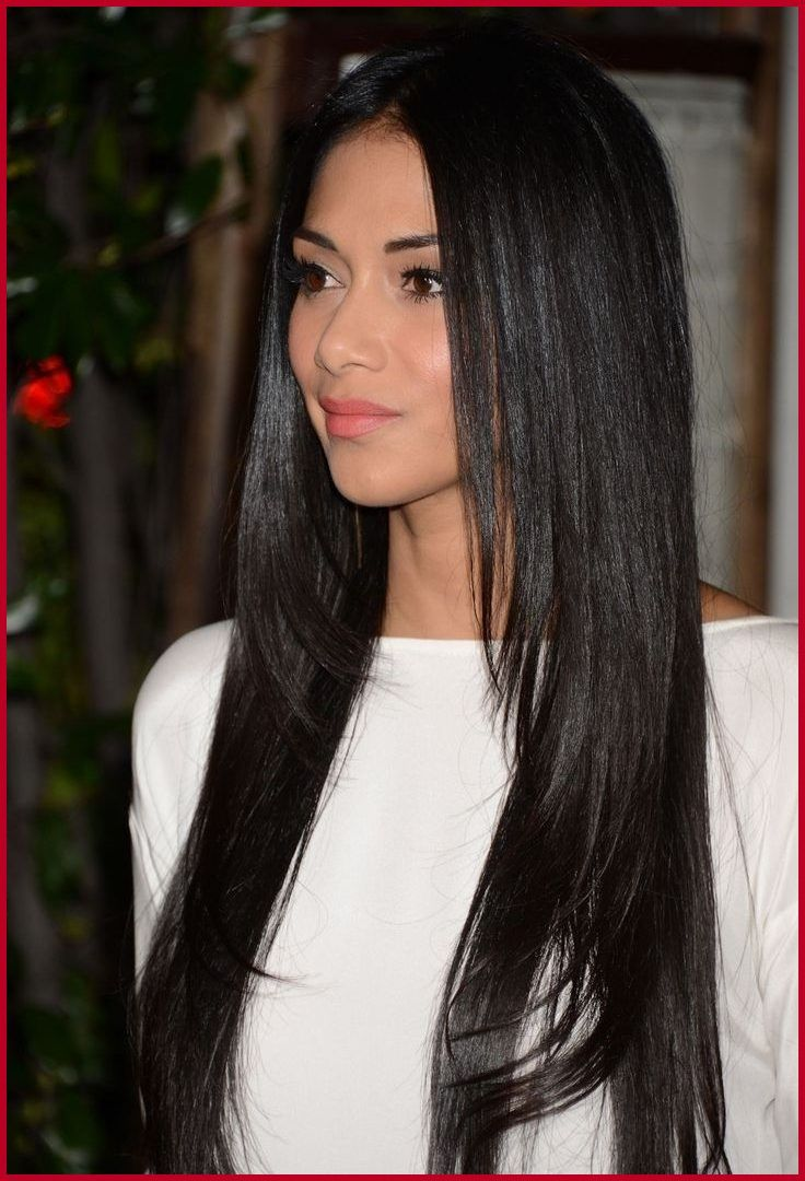 image result for long straight layers | hairspiration | long