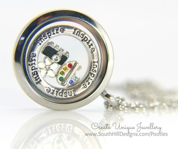 South Hill Designs & Stampin' Up! Sunday - Inspire Locket