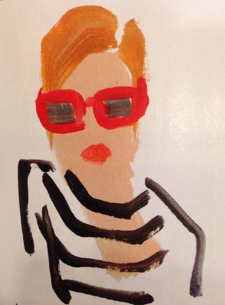 Fashion illustration, by Donald Drawbertson.