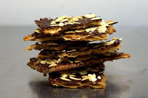 chocolate caramel crack(ers) | smittenkitchen.com