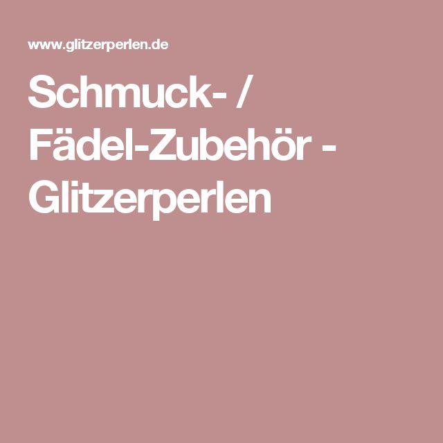 Schmuck- / Fädel-Zubehör - Glitzerperlen