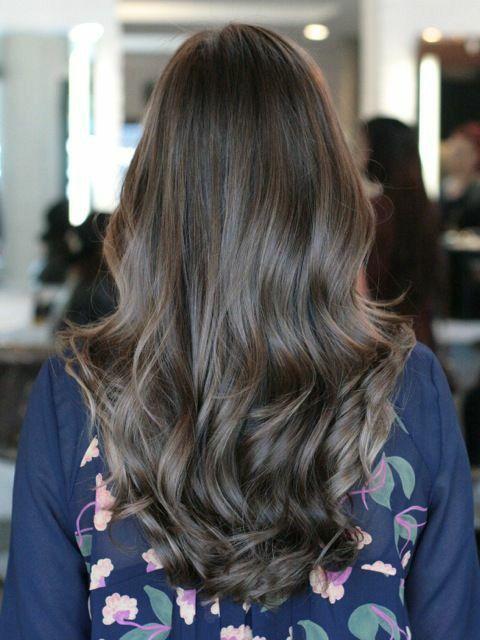 Perfect natural hair color