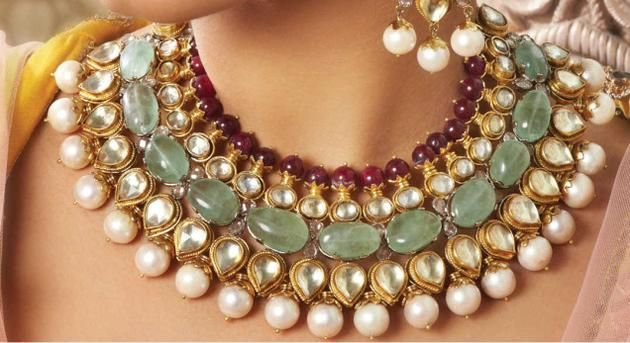 Stunning:The Begum collection from Art Karat.
