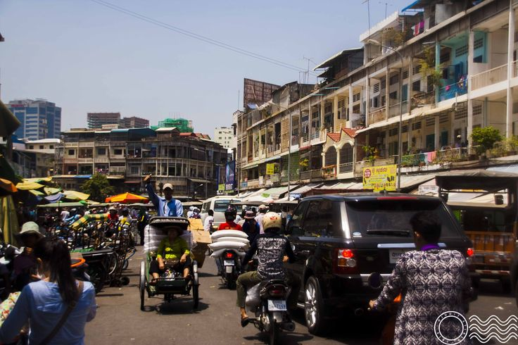 First impressions at a typical cambodian market - Orussey Market - with pictures and some prices.