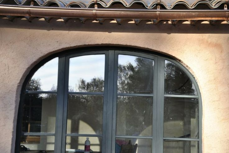 Portes fenetres en aluminium avec cintrage sur mesure for Porte fenetre sur mesure