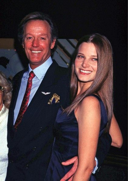 Peter Fonda and Bridget Fonda Photo Father and daughter