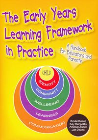 This is a key resource for interpreting and implementing the Early Years Learning Framework (EYLF), and is of value to anyone involved with early childhood education. It includes an overview of the principles and practice and pedagogy underlying the EYLF and advice on implementing the outcomes with different age groups. It also includes guidelines on learning environments, observation, evaluation, planning, play and transitions.