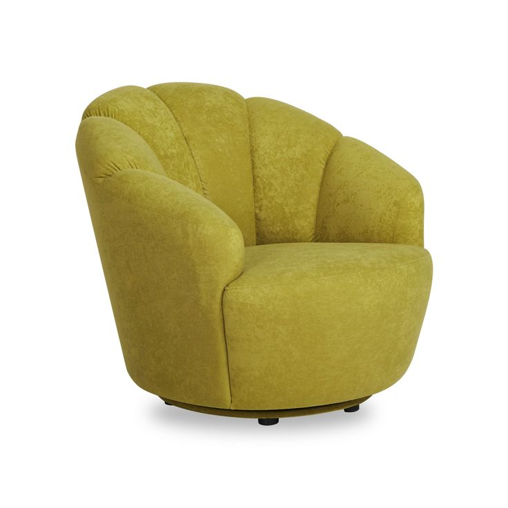 Gold Sparrow Newton Avocado Swivel Barrel Chair, Green