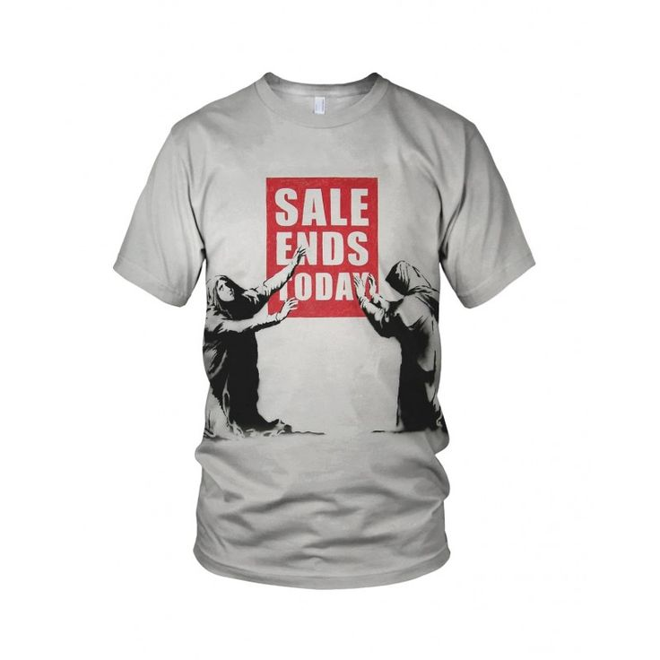 """Sale Ends Today, from the collection of """"Hand Printed"""" Designs by the prolific street artist known as """"Banksy"""".   More Designs and Styles on the Store: http://www.globalmusicollective.com/store/?product_cat=banksy"""